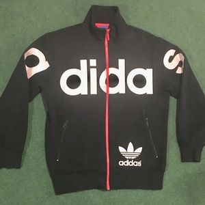 Adidas Big Logo Spellout Jacket